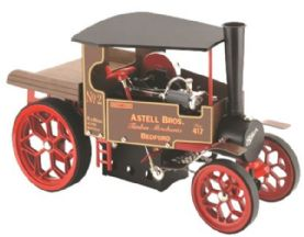 Wilesco Mobile Steam Engines a